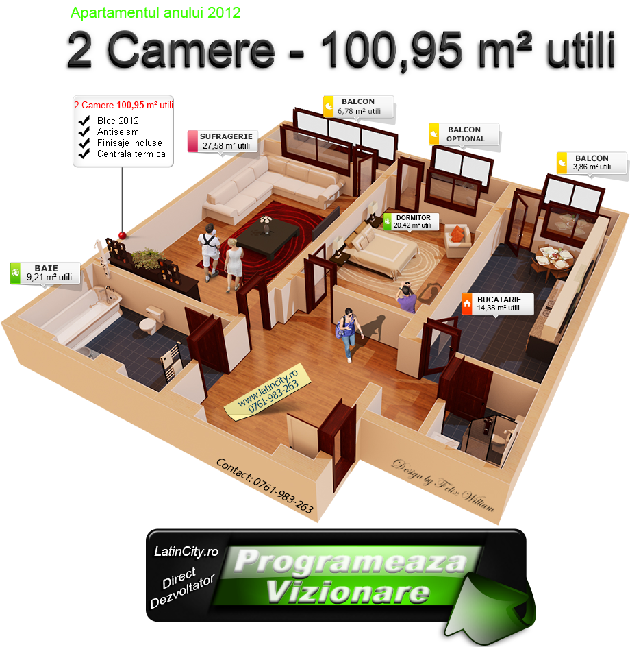 2 camere-10095 mp utili